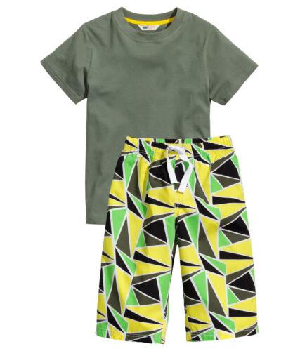 134-170  NEU Zweiteiliger Pyjama Gr H/&M  Schlafanzug