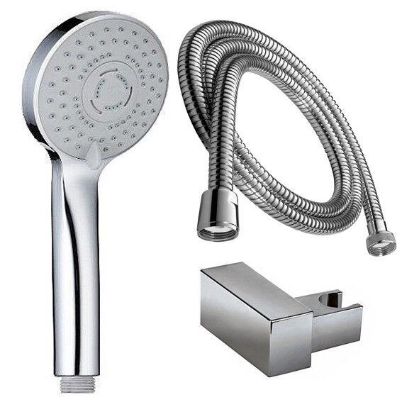 Duschbrause Massage Handbrause Duschkopf  Halterung Antikalk  Schlauch 200 cm | Einfach zu bedienen  | Moderner Modus  | Attraktive Mode  | Vorzüglich