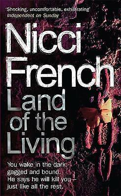 """AS NEW"" French, Nicci, Land of the Living, Paperback Book"