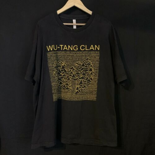 Wu-Tang Clan Joy Division Unknown Pleasures Inspir