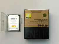 Nikon En-el19 Rechargeable Li-ion Battery (retail Pack)