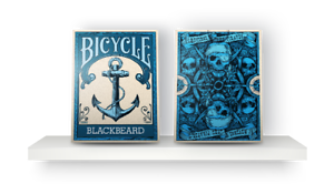 Carte Da Gioco Bicycle Blackbeard,poker Size