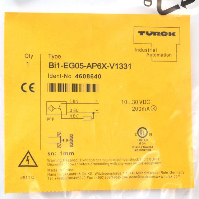 H●TURCK Bi1-EG05-AP6X-V1331 4608640 Inductive sensor PNP.