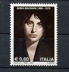Italy-2008-Centenary-of-Birth-of-Anna-Magnani-MNH