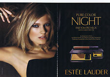 PUBLICITE ADVERTISING 094 2010 ESTEE LAUDER pure color Night par Tom Pecheux