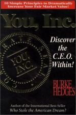 You, Inc. Vol. 1 : Discover the C. E. O. Within! by Burke Hedges (1996, Paper...