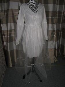 (BK96)Edles Damen Braut Standesamt Abend Kleid GR: GR: 42 ...
