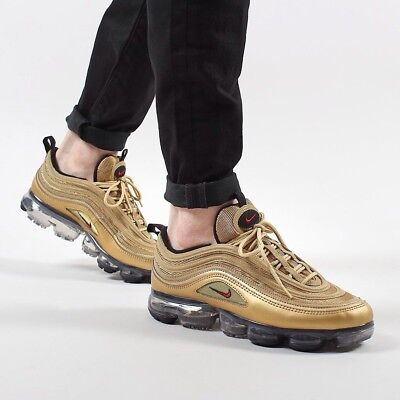 Nike Air Vapormax 97 Metallic Gold Size