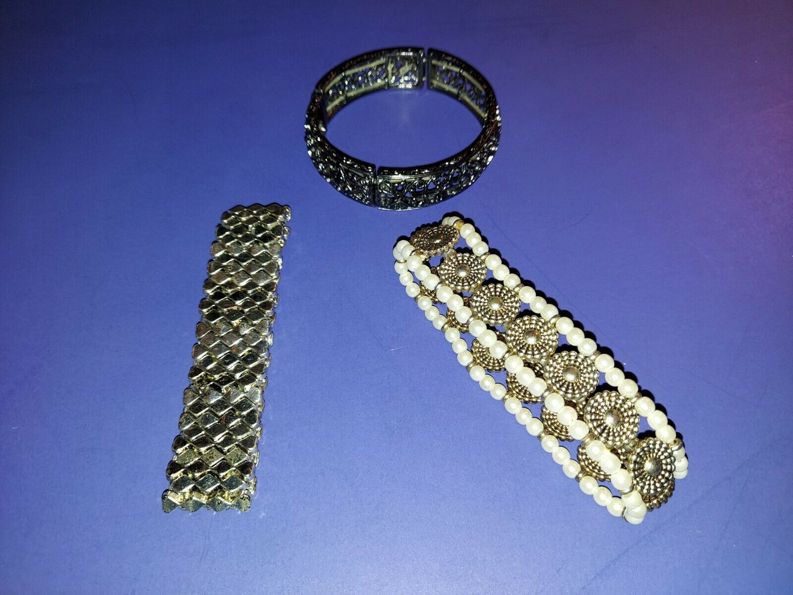 Bracelet Lot, Costume Jewelry - image 2