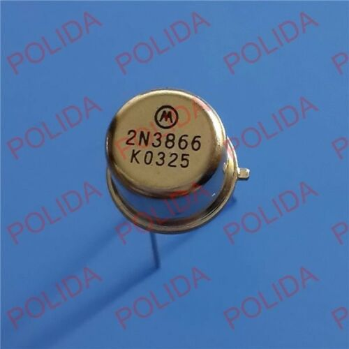 10PCS HF//VHF//UHF TRANSISTOR MOTOROLA//ST//RCA TO-39 2N3866