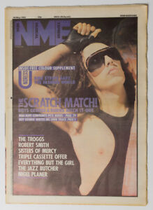 NME magazine 26 May 1984 DEAD OR ALIVE Pete Burns Troggs Robert Smith
