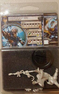Warmachine Cygnar Commander Adept Nemo Warcaster PIP 31071