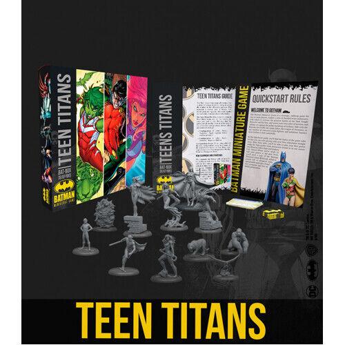 en promociones de estadios Batman de Teen Teen Teen Titans Bat-Caja Miniatura Juego Nuevo y Sellado  solo para ti