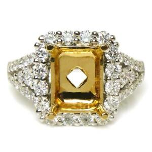 1-11-TCW-Round-Cut-Diamonds-Engagement-Setting-Crafte-In-Solid-14k-Two-Tone-Gold