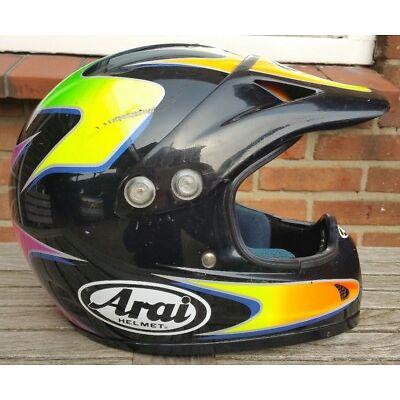 Arai VX Pro MX Motocross Helm L Vintage Nolan Classic Retro Twinshock MX-3 SX