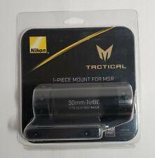 30mm Tube #11932 Nikon Tactical 1 Piece Mount For MSR