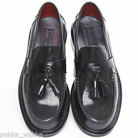 Delicious Junction Black Ace Punch Loafers Mods Soul Retro 60's Skinhead Ska