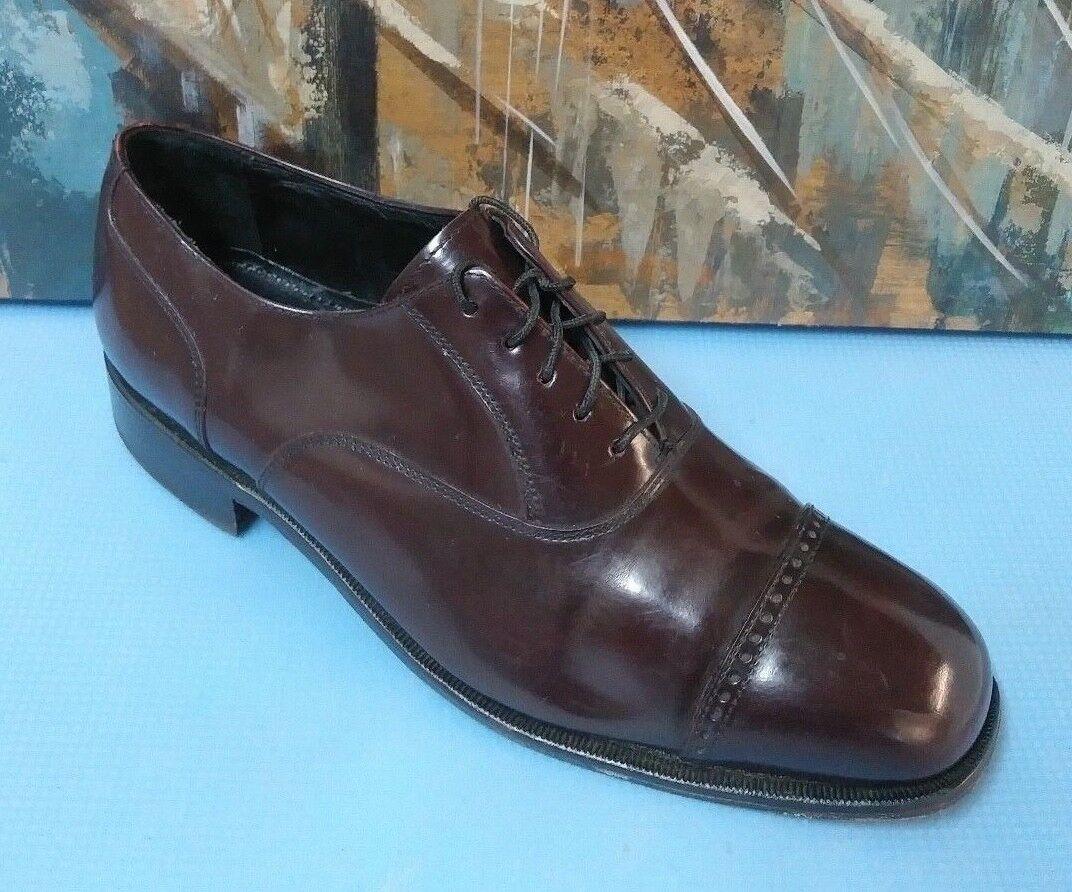 FLORSHEIM Oxford Brown Oxford FLORSHEIM Shoe Men's 11 D 2bedc6