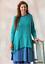 Purple Bnwt Turquoise M Uk Tunica Top Sjoden Pim 14 Blue Size Gudrun 12 pBcWpaq14n