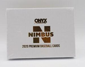 2020 Onyx Nimbus Collection Baseball Sealed Hobby Box 2 On Card Autos!
