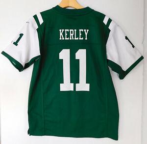 NEW YORK JETS Jeremy KERLEY #11 JERSEY NIKE Green NFL Football ...