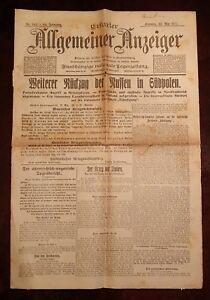 Erfurter-Allgemeiner-Indicador-23-Mayo-1915-Historico-Periodico-1