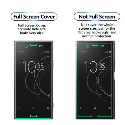 1 Pack Full Screen Face Curved Tpu Screen Protector Cover For Sony Xperia Xz3