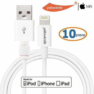 10x Apple Original 8-PIN Connector Lightning Cable For iPhone 7 7Plus 5 5S SE 5C