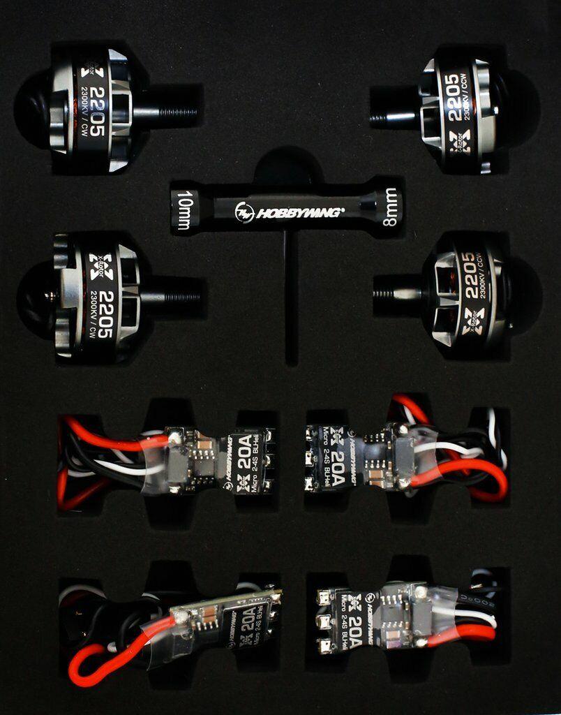 Nuevo HobbyWing Xrojoor Micro 35A Esc Bruce Lee motor carrera Envío Gratis en EE. UU. 2205-1800KV Combo