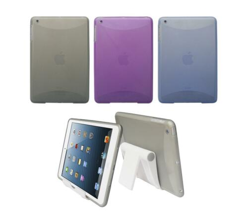 View Stand Holder TPU Gel Skin Case Cover for Apple iPad Mini 1st Generation