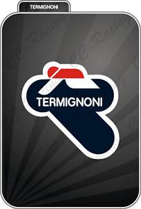1 Adesivo Stickers Termignoni Resistente Al Calore 9 Cm