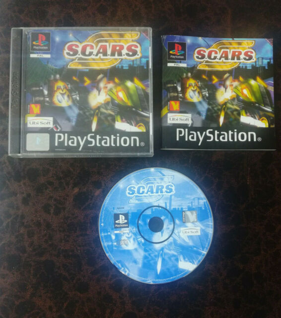 S.C.A.R.S / SCARS - PS1 - Complet - FR