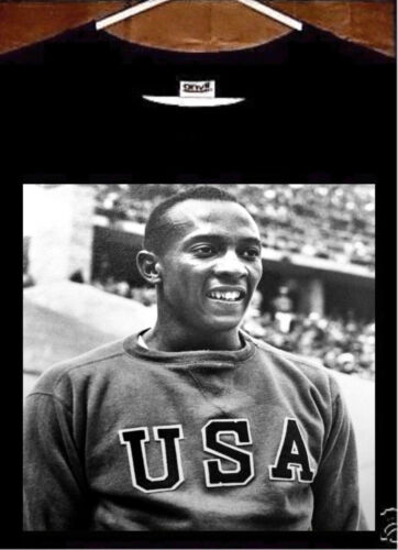 Jesse Owens T Shirt; Jesse Owens USA Tee Shirt
