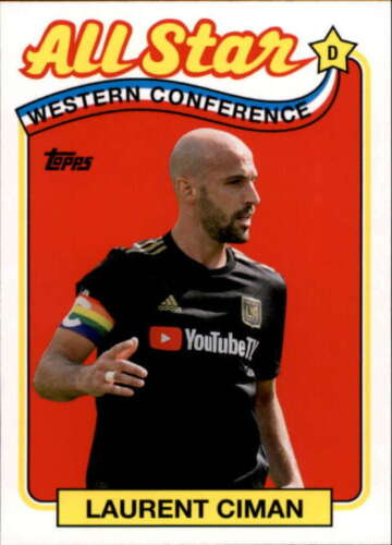 2019 Topps MLS All-Star Inserts Pick A Card