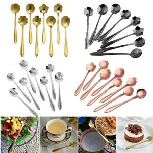 8pcs-set-Coffee-Spoon-Flower-Shape-Stainless-Steel-Tea-Spoon-Ice-Cream-Spoons