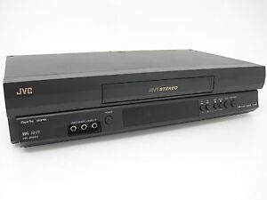 Jvc hq vhs vcr player recorder hi fi stereo video tuner home jvc hq vhs vcr player recorder hi fi sciox Choice Image