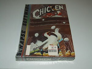 CHICKEN by SYNAPSE Atari 800 XEXLCARTCOMPUTER NEW OLD STOCK  SEALED CONDITION - YORKSHIRE, United Kingdom - CHICKEN by SYNAPSE Atari 800 XEXLCARTCOMPUTER NEW OLD STOCK  SEALED CONDITION - YORKSHIRE, United Kingdom