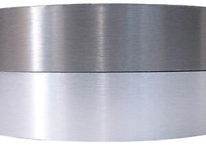1 Meter Kantenumleimer echt Alu mit SK Melamin 45mm