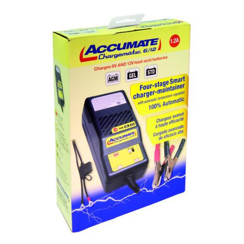Accumate 6 Voltio /& 12 Voltaje Coche Clásico Automático Batería Cargador Último