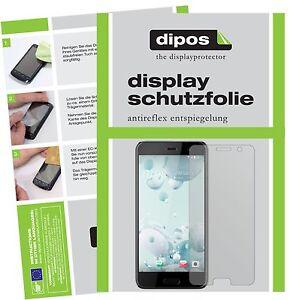 3-3x-HTC-U-Play-Protector-de-Pantalla-protectores-mate-dipos