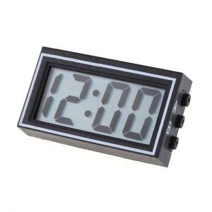 Mini-Digital-LCD-Auto-Car-Truck-Dashboard-Date-Time-Calendar-Clock-Black-SS