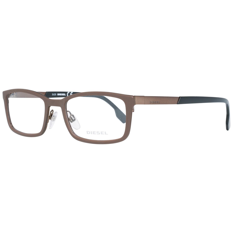 Diesel Brille DL5196 049 54 Herren Braun