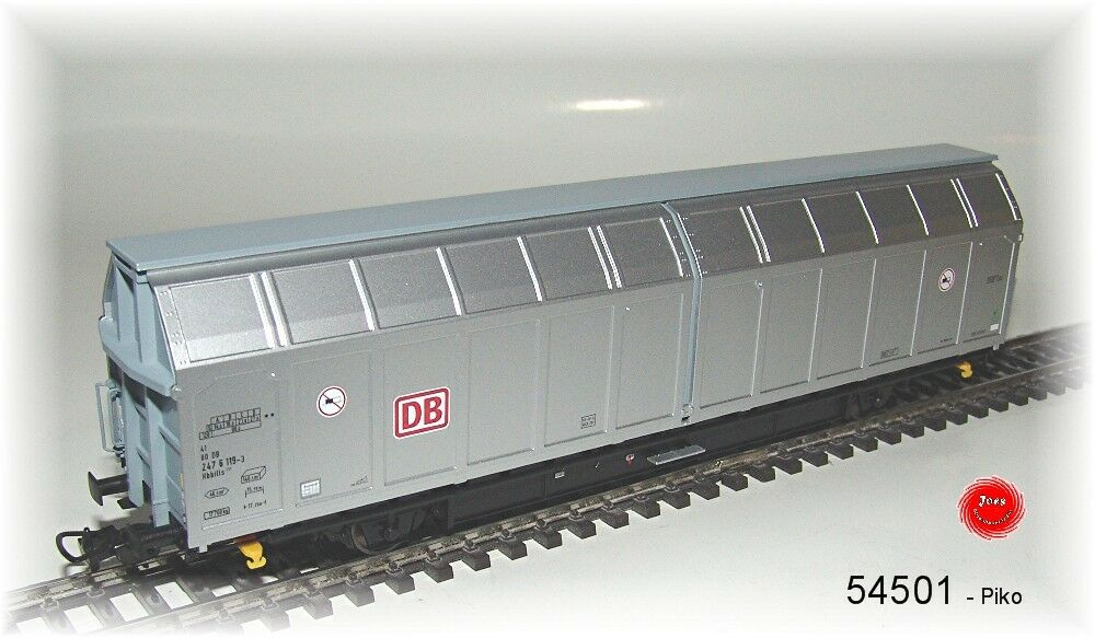 Piko Ho 54501 Vagone a Pareti Scorrevili Hbbills311 DB Ag # Nuovo in Confezione