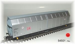 Piko HO 54501 Greater sliding wall wagon Hbbills311 the DB AG #