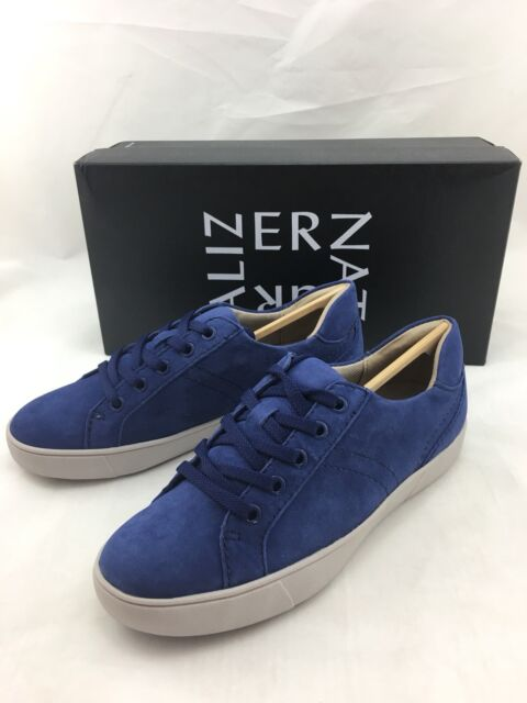 d3a68dddd Naturalizer Women s Morrison Suede SNEAKERS Sapphire Size 6.5m for ...