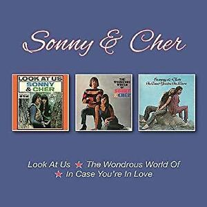 Sonny-And-Cher-Look-At-Us-The-Wondrous-World-Of-In-Case-You-039-re-In-Lo-NEW-2CD