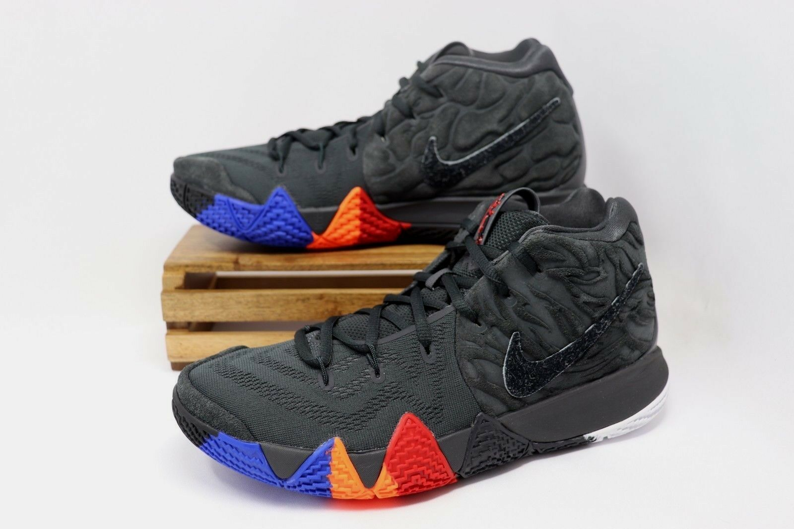 sneakers for cheap 1f829 d78c0 Mens Sz 12 Nike Kyrie 4 Irving Year of The Monkey Anthracite 943806-011