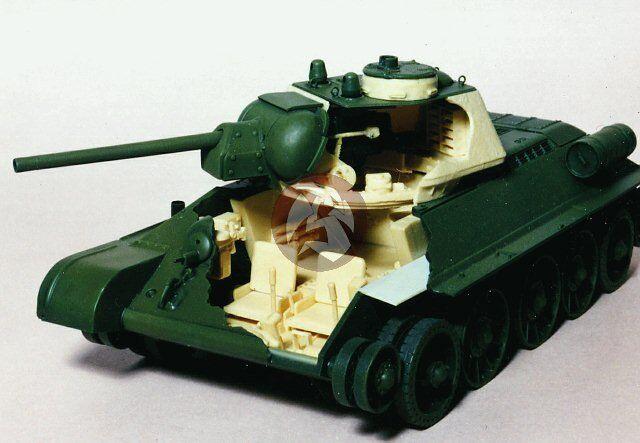 Tank Workshop 1 35 T-34 76 Tank Interior Fighting Compartment (Tamiya) 355001