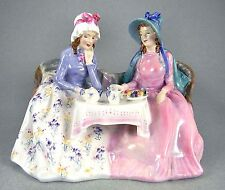 "Royal Doulton Figurine HN 1747 - ""Afternoon Tea"", Old Mark"