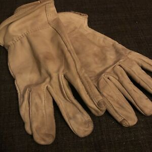 Indiana-Jones-Raiders-of-the-Lost-Ark-Repro-Leather-Work-Gloves-Size-L-MINT